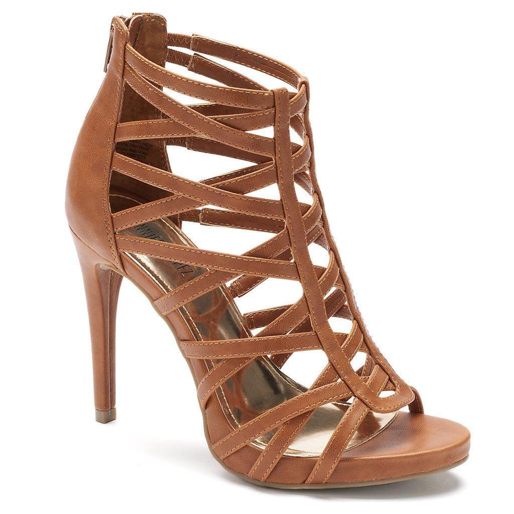 Jennifer Lopez Women S High Heel Gladiator Sandals Kohls Gladiator Sandals Heels Womens High Heels Brown Sandals Heels