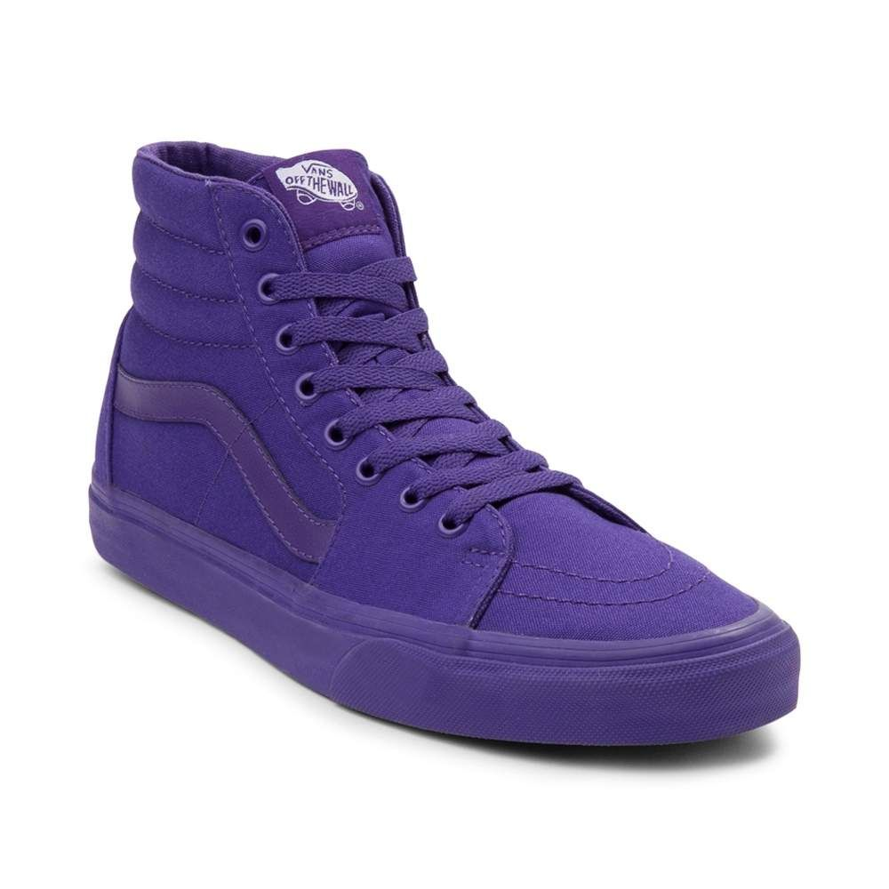 a226fae66a Purple Vans Sk8 Hi Skate Shoe from Journey s