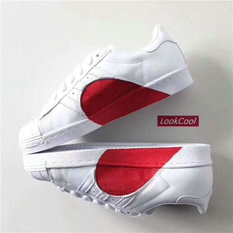 Adidas superstar 80s, Sneakers, Heart shoes