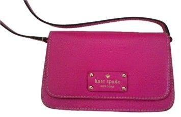 Kate Spade Pink Fynn Nwt Snapdragon Cross Body Bag