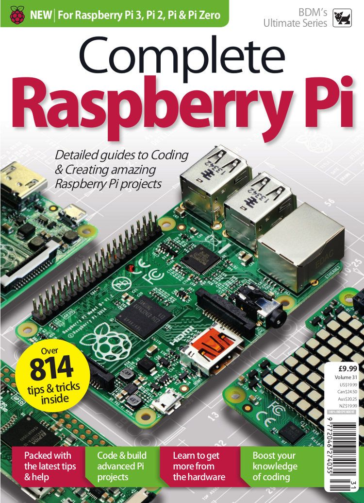 Complete Raspberry Pi Vol 31 in 2018 | 2018 - 10 | Pinterest