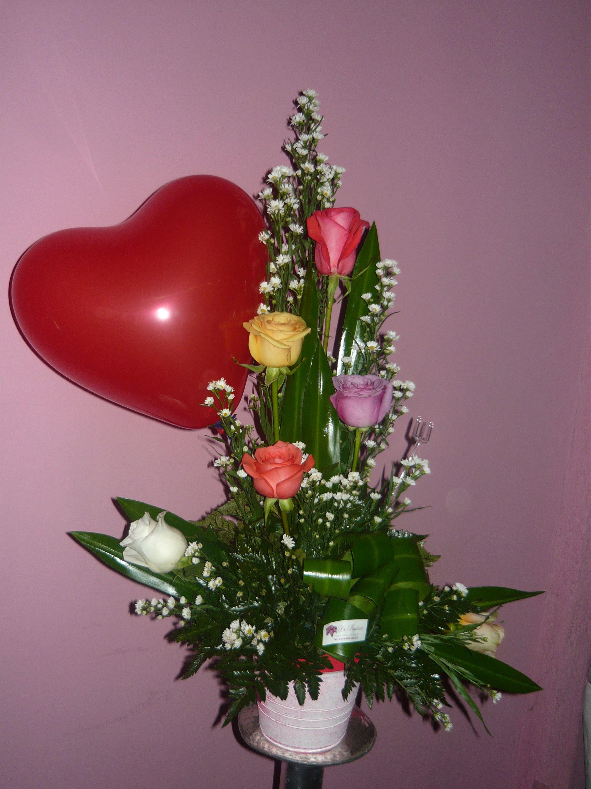 Arreglos De Rosas Rosas Rojas Arreglo Para Enamorados
