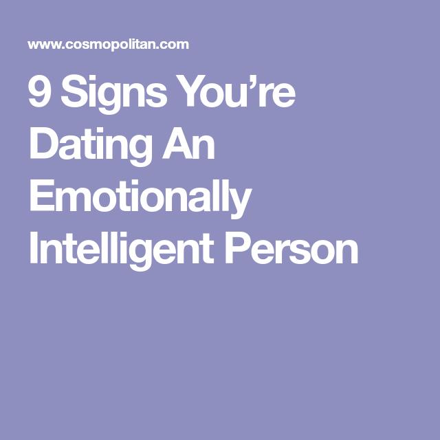 Dating emotional intelligence