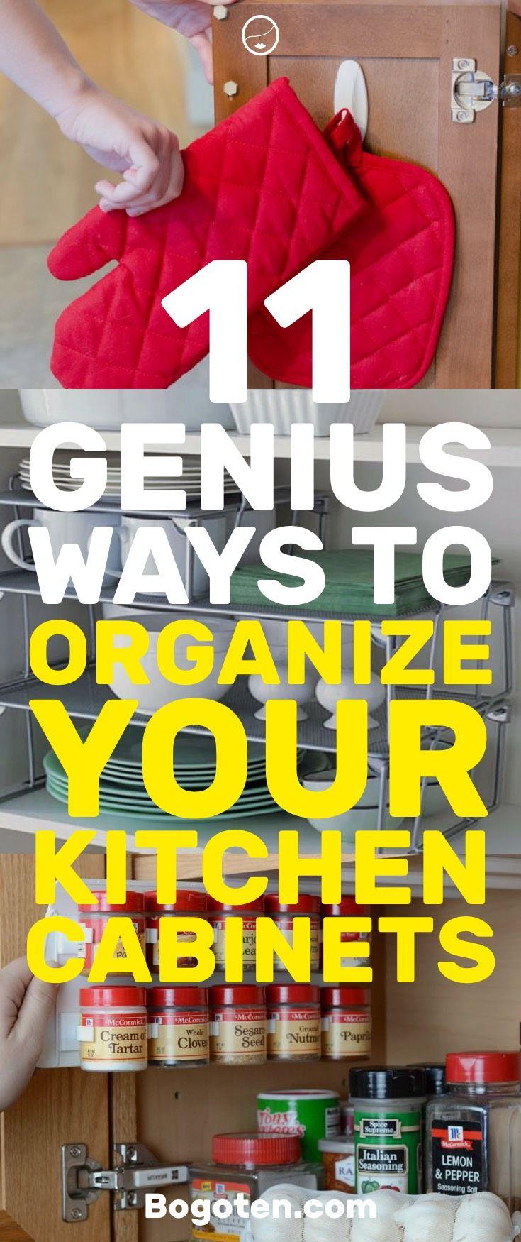 11 Genius DIY Ways to Organize Your Kitchen