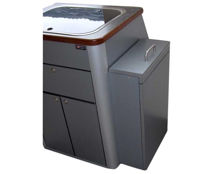VWT5 Multivan Pantry-Küche, Fertigteil mit Spüle, Glasabdeckung - spüle für küche