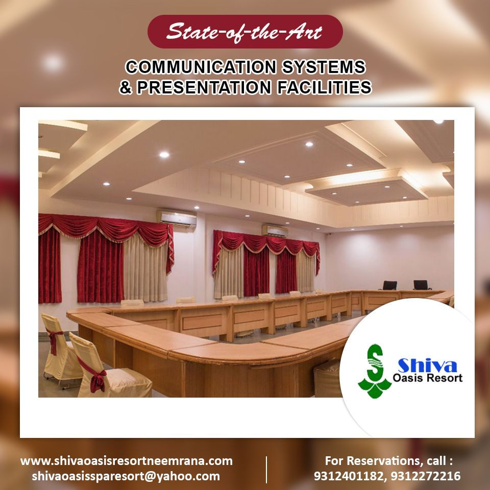 Book a meeting room in Neemrana, Rajasthan. Save time and