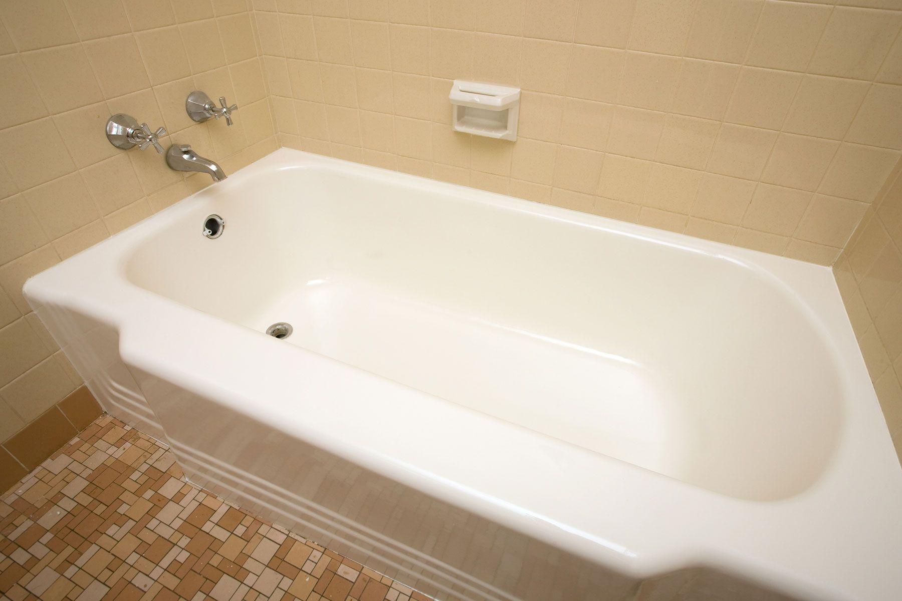 Bathtub Refinishing Selbstgebaute Badewanne Badezimmer Design