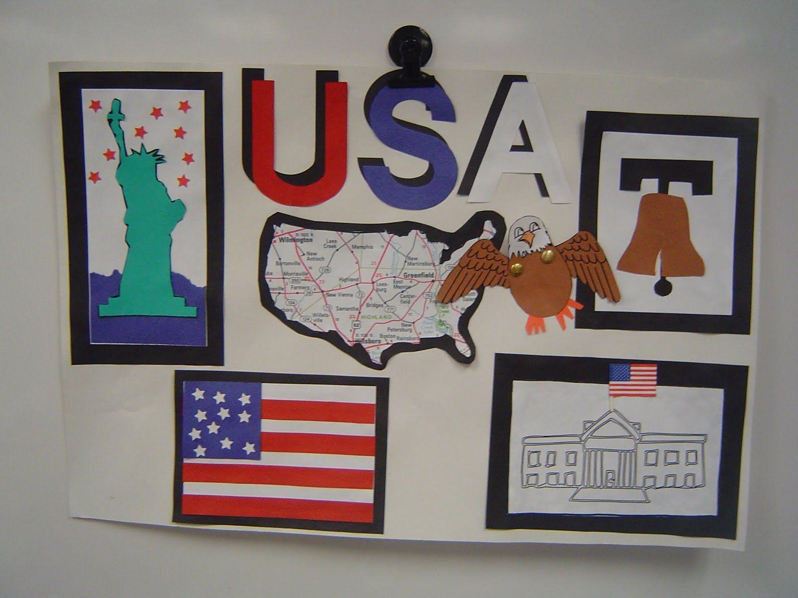 Patriotic Symbols Worksheet