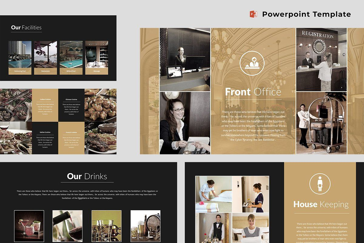 Hotel Powerpoint Template Keynote Template Powerpoint Templates Keynote