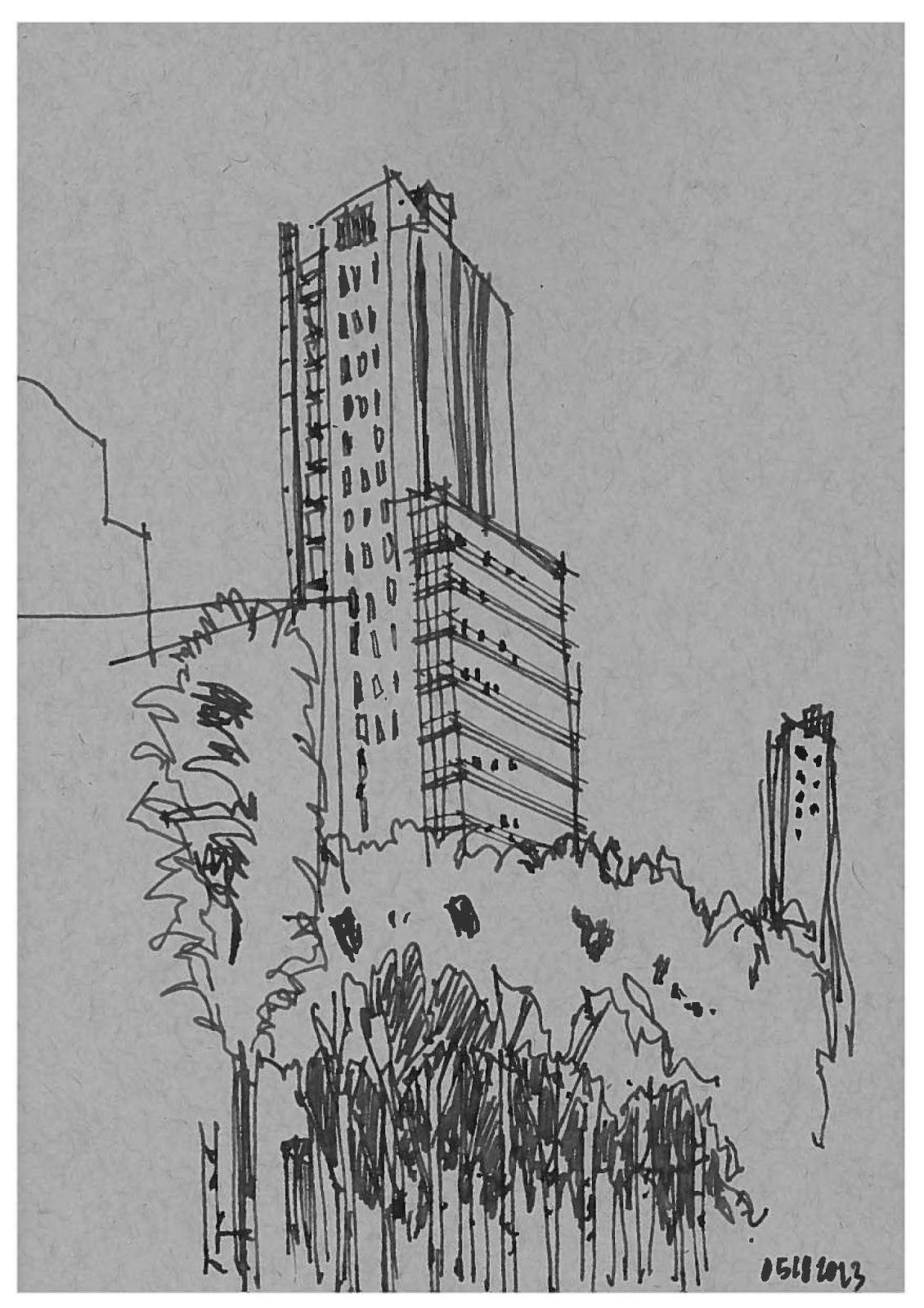 GrittyUrban Sketching Long Island City Style... Urban