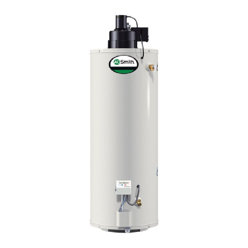 A O Smith Promax Power Vent 50 000 Btu 50 Gal Residential Lp Gas Water Heater Natural Gas Water Heater Will Smith Bathroom Exhaust Fan