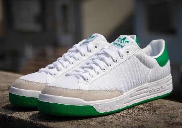 size 40 21328 af17d Adidas Rod Laver Original White Green