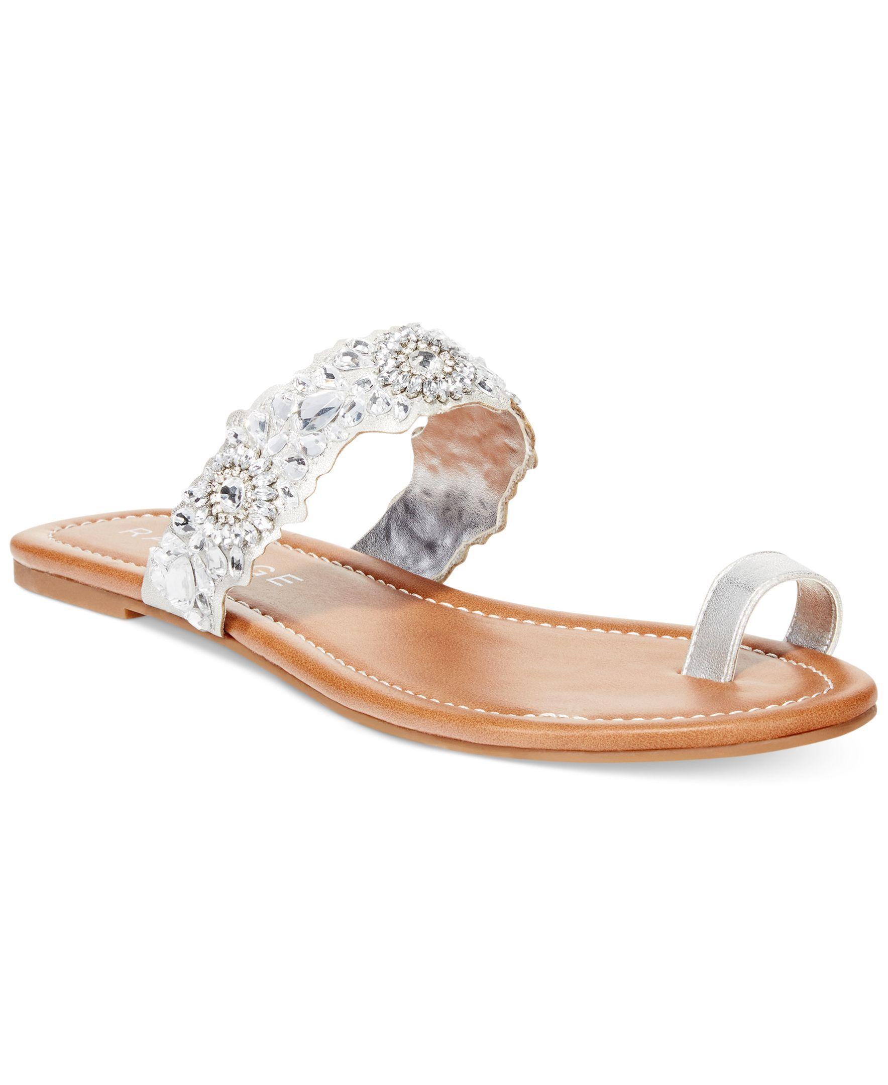87a5af080 Rampage Raila Toe Thong Slide Sandals