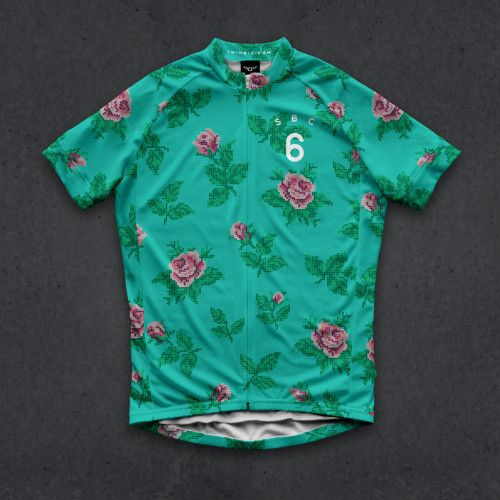86a0c04b8  TWIN SIX  the speedy rose canyon jersey (green)