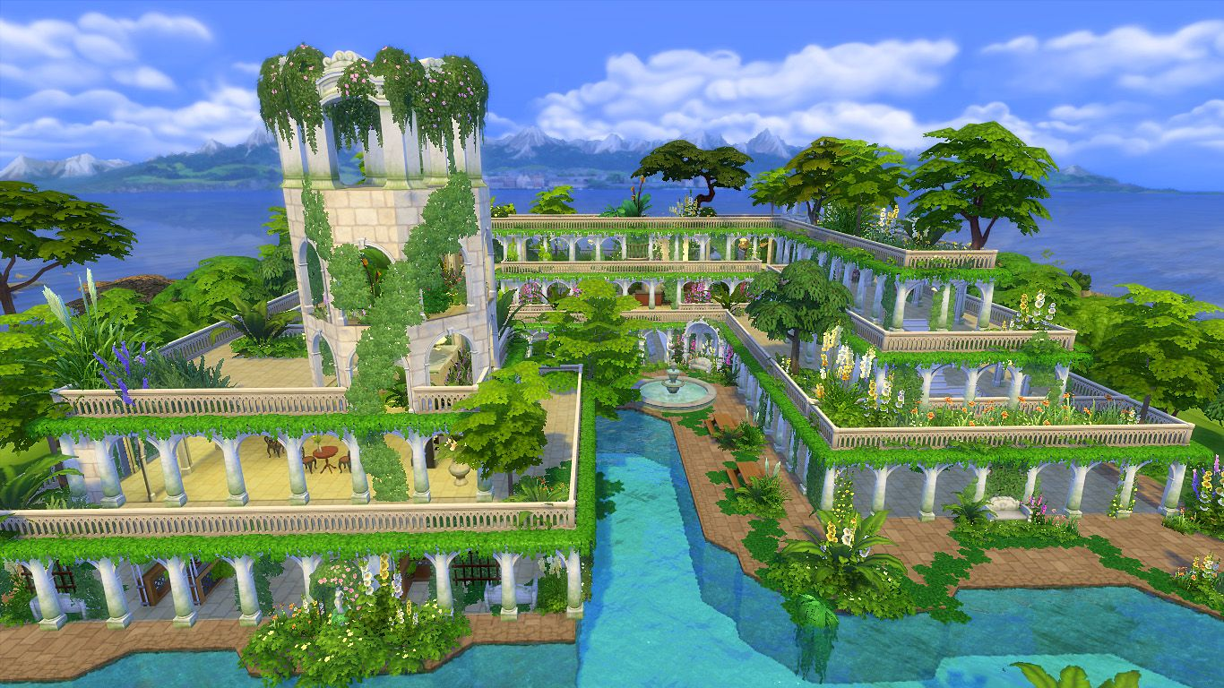 Hanging Gardens Of Babylon Images Now
