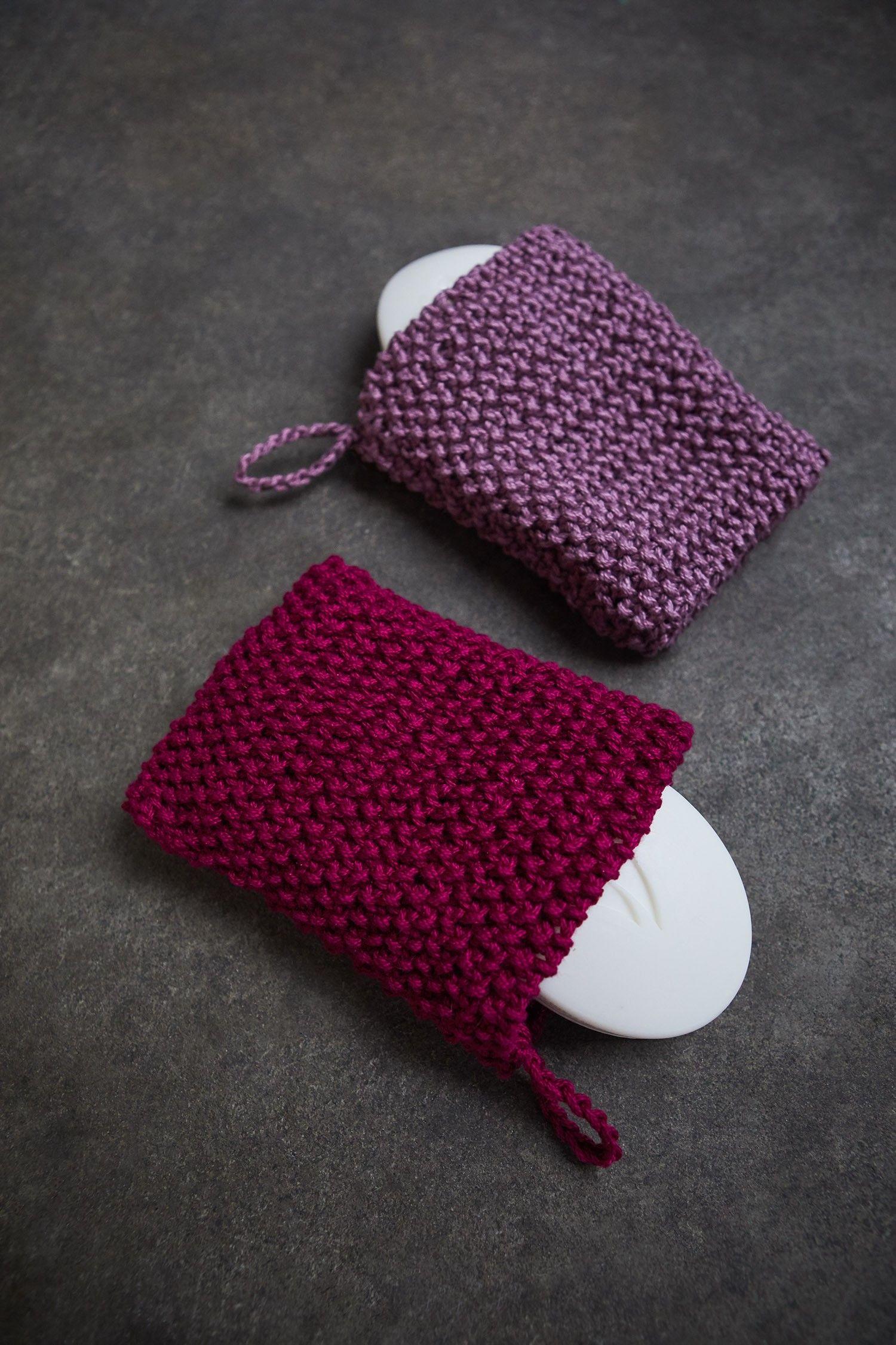 Soap Sack Knit Make Pinterest Knit Patterns Crochet And Yarns