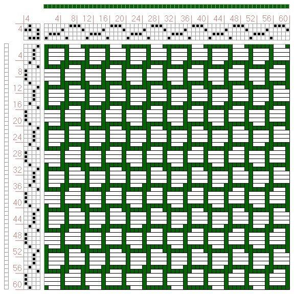 page 165, figure 2 Orimono soshiki hen Textile System Yoshida - innovative oberflachengestaltung pixelahnliche elemente