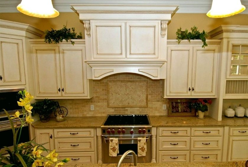 I Can T Afford 150k For A Kitchen Renovation Now What Antique White Kitchen Cabinets Antique White Kitchen Kitchen Cabinet Design