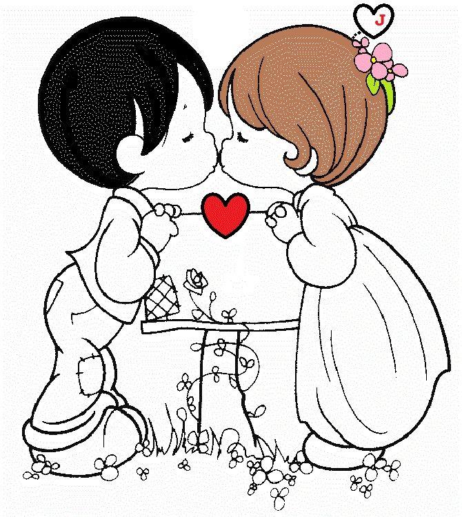 Diversos Desenhos Para Colorir Dia Dos Namorados Com Imagens