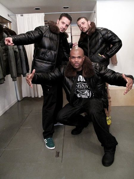 run-dmc-double-goose-v-bomber-jacket | Outerwear | Pinterest | Fur