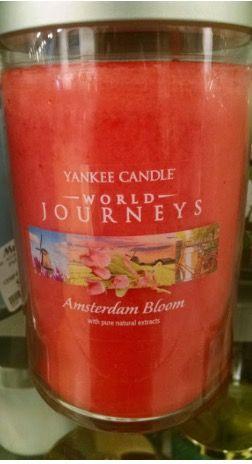 Yankee Candle Amsterdam.Amsterdam Bloom 22oz Large Tumbler Yankee Candle World