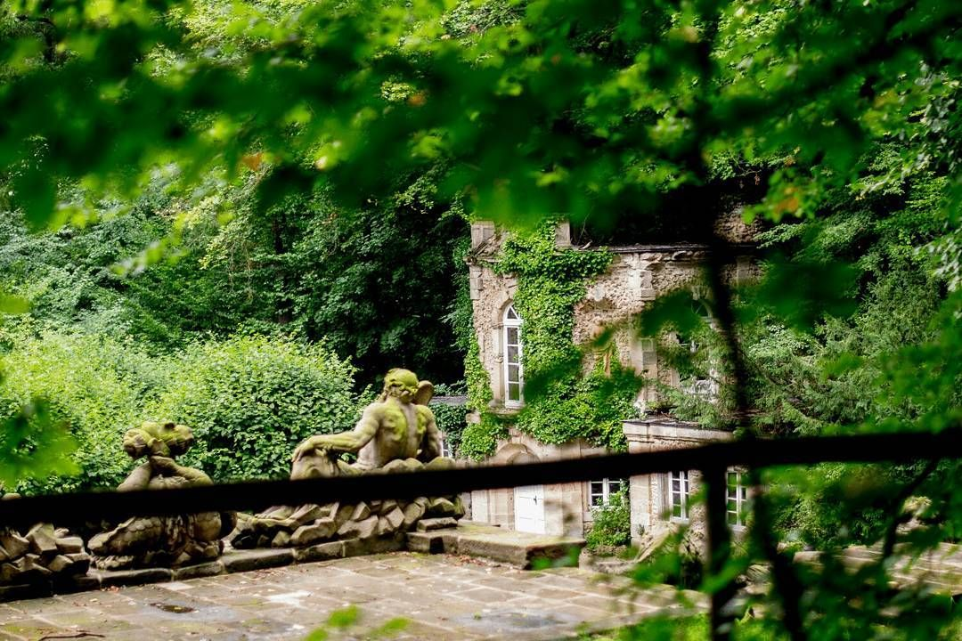Die Eremitage Des Markgrafen An Der Unteren Grotte The Hermitage Of The Margrave At The Lower Grotto Bayreuth Visitbayr Germany Castles Franconia Tourism