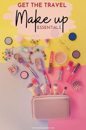 Photo of Travel Make Up essentials  Travel make up essentials that you must carry | Trave…