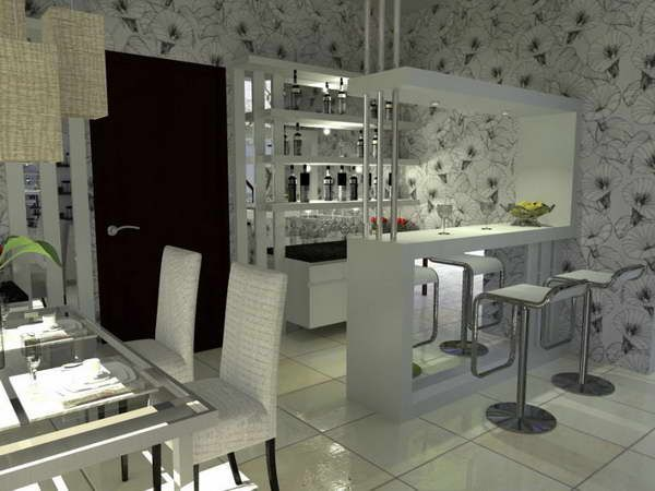 Basement Wet Bar Designs: Home Wet Bar Modern Designs U2013