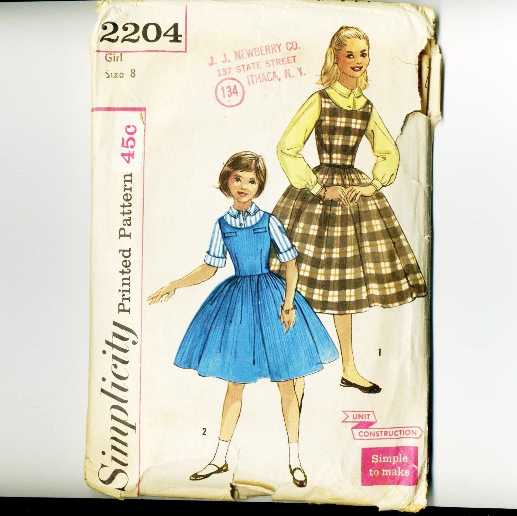 Vintage 1950s, Sewing Pattern