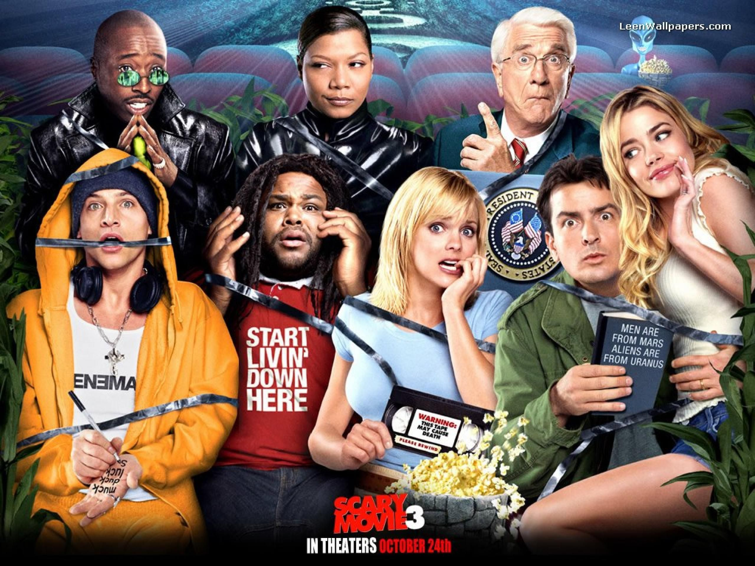 Thee Best Ever Movies Scary Movie 3 Scary Movie 2 Comedy Movies