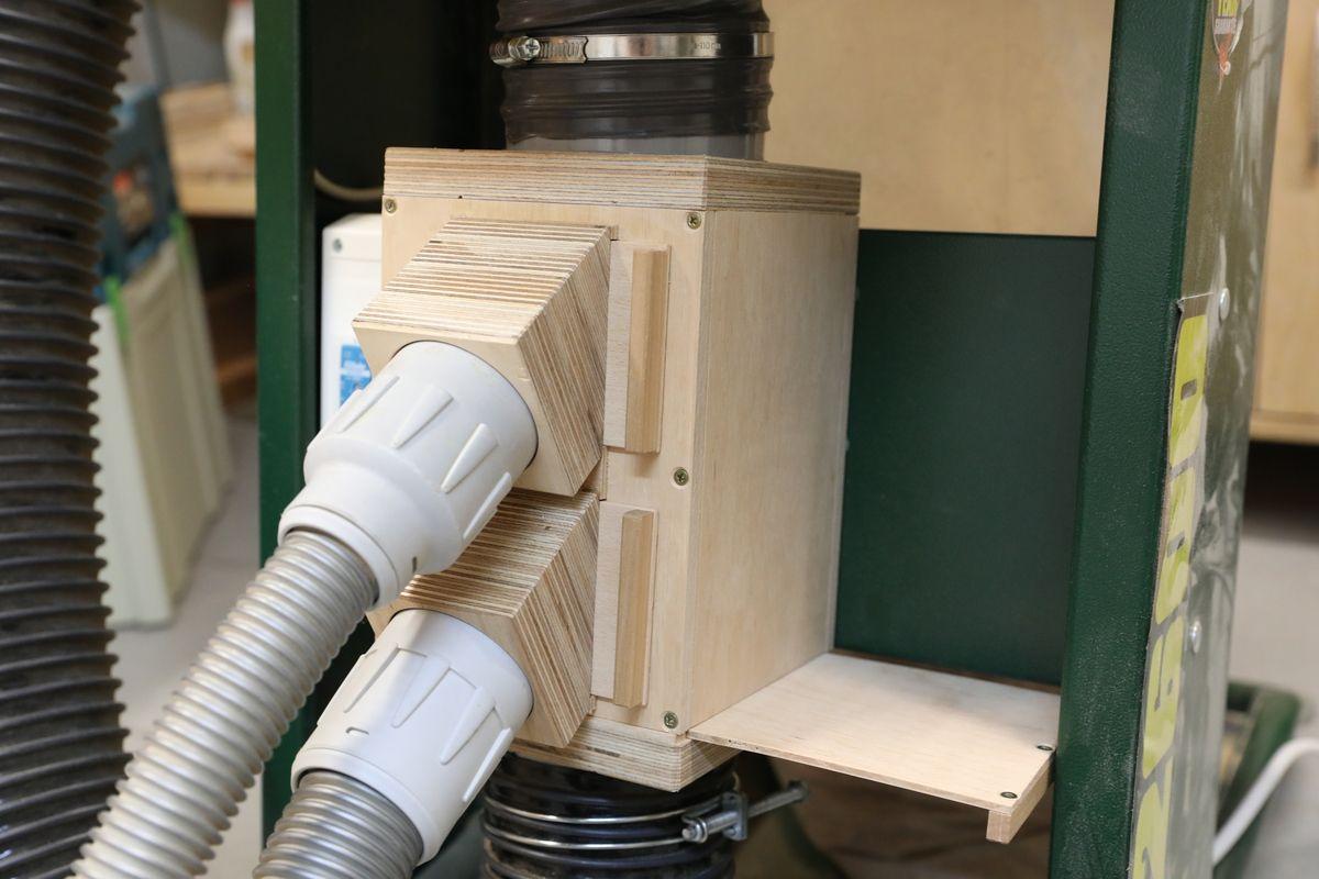 Komfort An Der Absauganlage Absauganlage Absaugung Holz Aufbewahrung Werkstatt