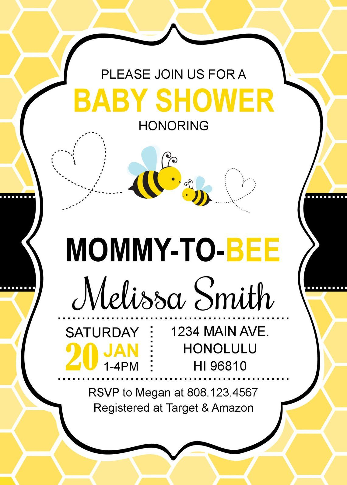 Bumble Bee Baby Shower Invitations Honey Bee Baby Shower Etsy Bee Baby Shower Invitations Honey Bee Baby Shower Invitations Honey Bee Baby Shower