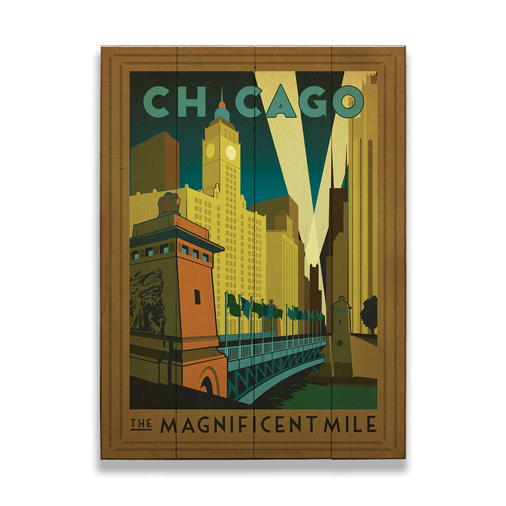 Chicago | Wood signs and Woods