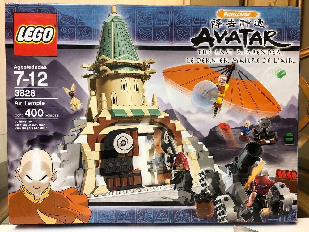 Lego 3828 Avatar The Last Airbender 100 Complete All Mini