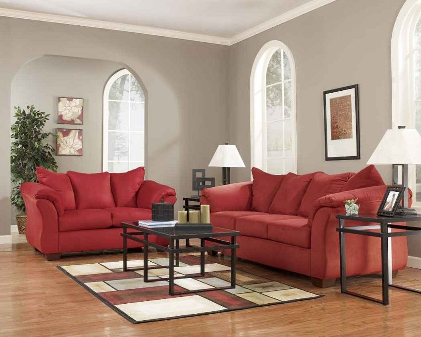 Ashley Furniture Darcy Salsa Living