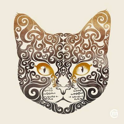 """La diseñadora gráfica Carolina Matthes es la creadora de una serie de dibujos con un estilo bastante interesante. Ella les llama """"swirly"""" y con ellos ha creado originales dibujos de animales. Acá te dejamos algunos de sus trabajos: http://bit.ly/1HXMiBk"""