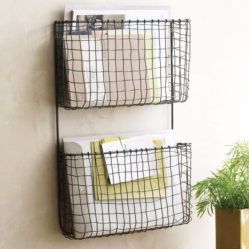 modern age double wall organizer dotandbocom would be so great for files and