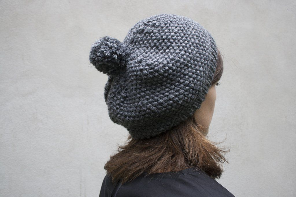 Tuto tricot : le bonnet au point de riz (avec images) | Tuto tricot, Tricot gratuit, Tuto bonnet ...