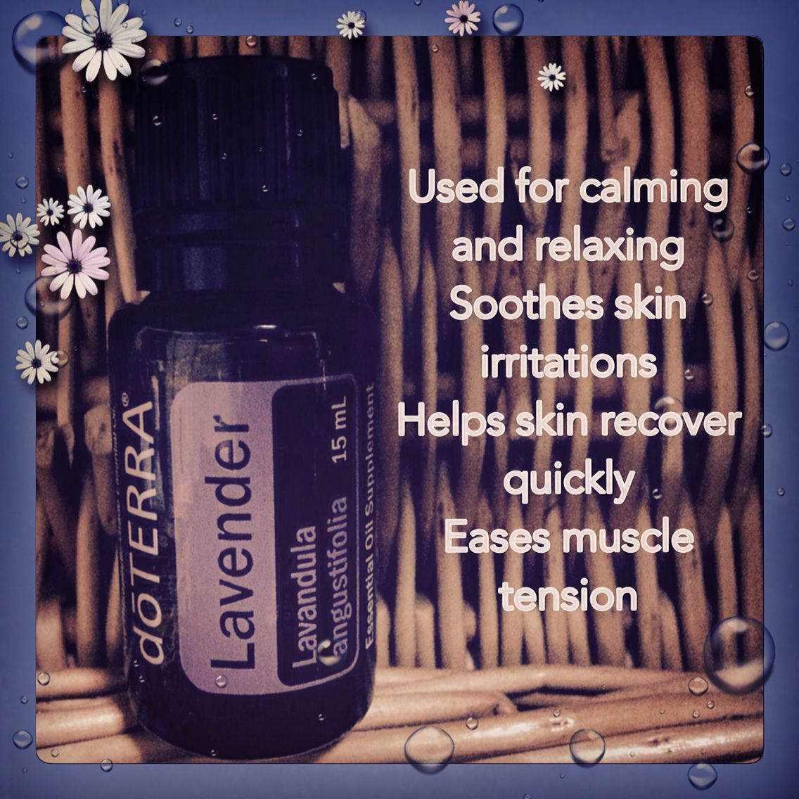 Lavender smells amazing and has great benefits! To order visit: www.mydoterra.com/sdmcduffee