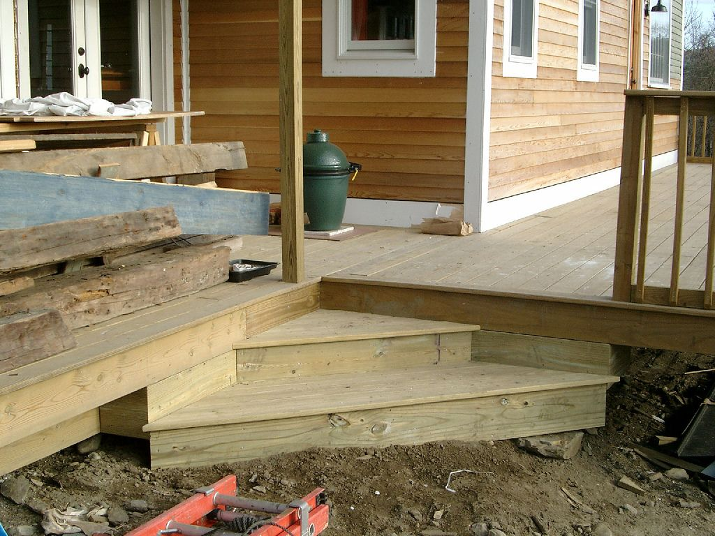 Best Corner Deck Steps Google Search For The House 400 x 300