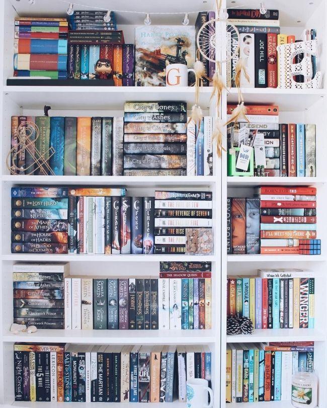 72 Bookshelf Organization Ideas How To Organize Your Bookshelf 8282 Organizebookshelf Boo Bookshelf Organization Bookshelf Inspiration Book Organization
