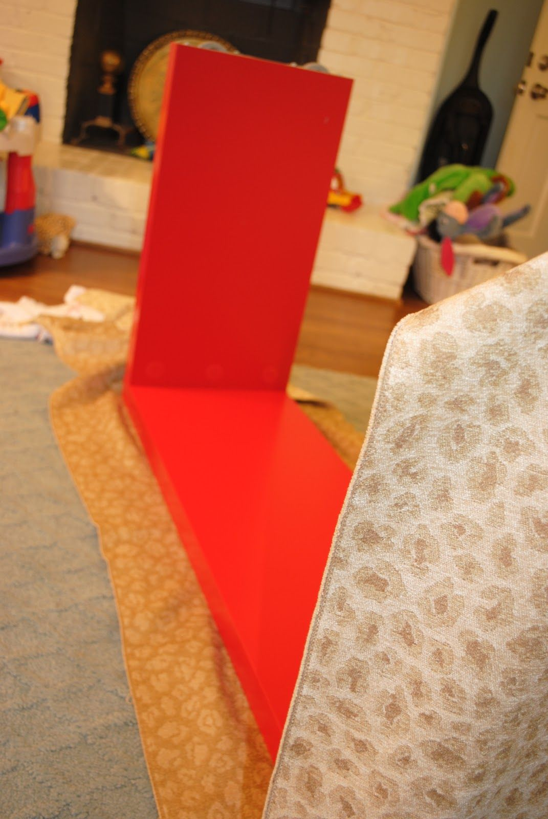 The Red Ikea Malm Console Table I Bought A Few Years Ago Has Been Sitting In