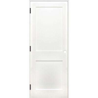 Shaker unfinished panel solid core primed pine wood reversible single prehung interior door also in  rh pinterest