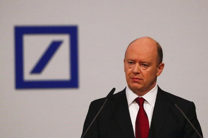 Deutsche CEO tackles crisis rumors within ranks World