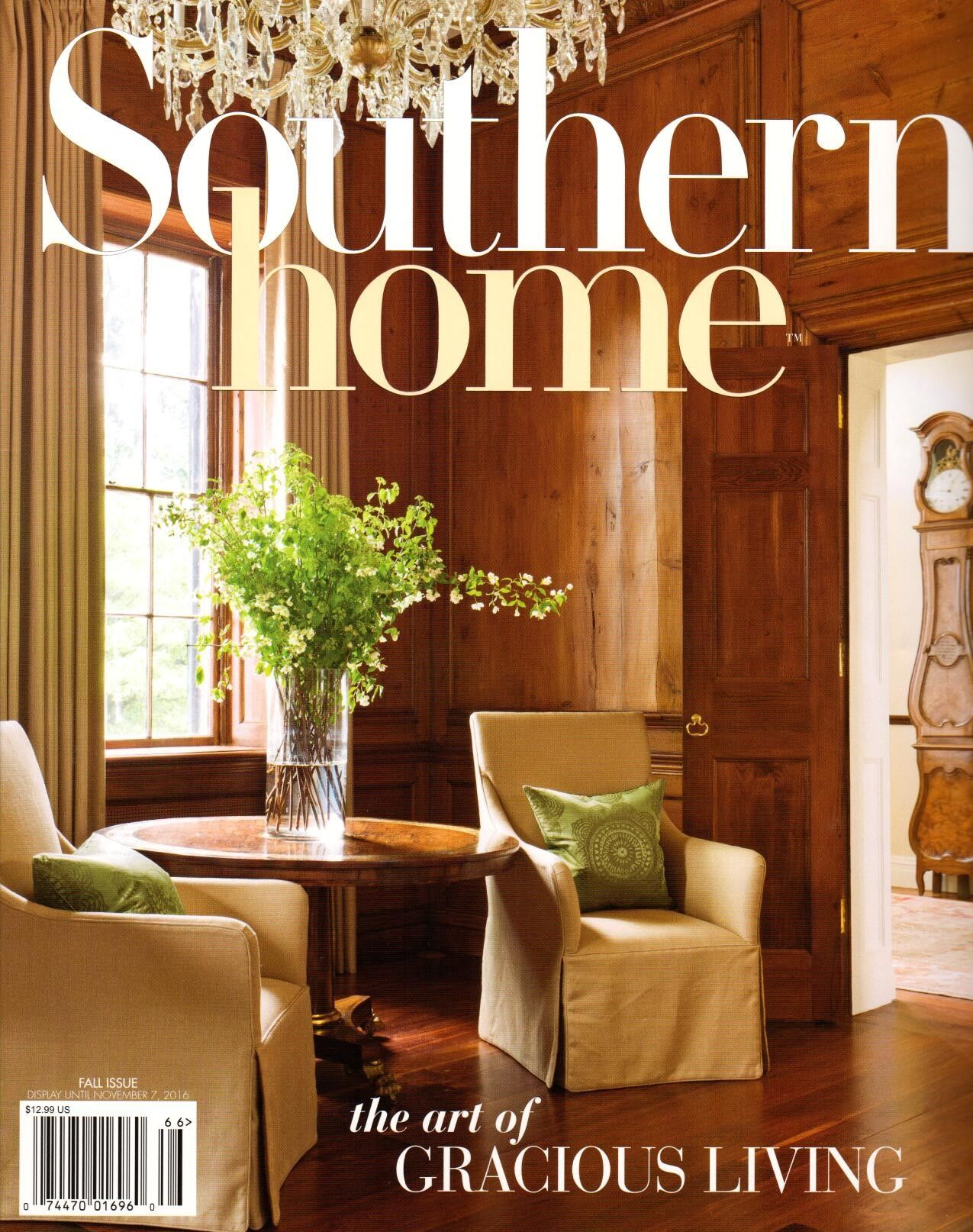 Southern Home Magazine House And Home Magazine Southern Homes Home