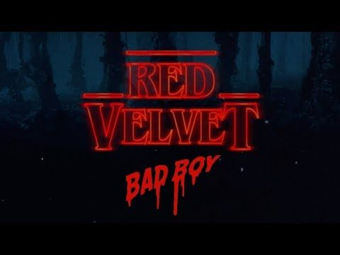 Red Velvet x Stranger Things - Bad Boy x Theme Song Remix (Mashup