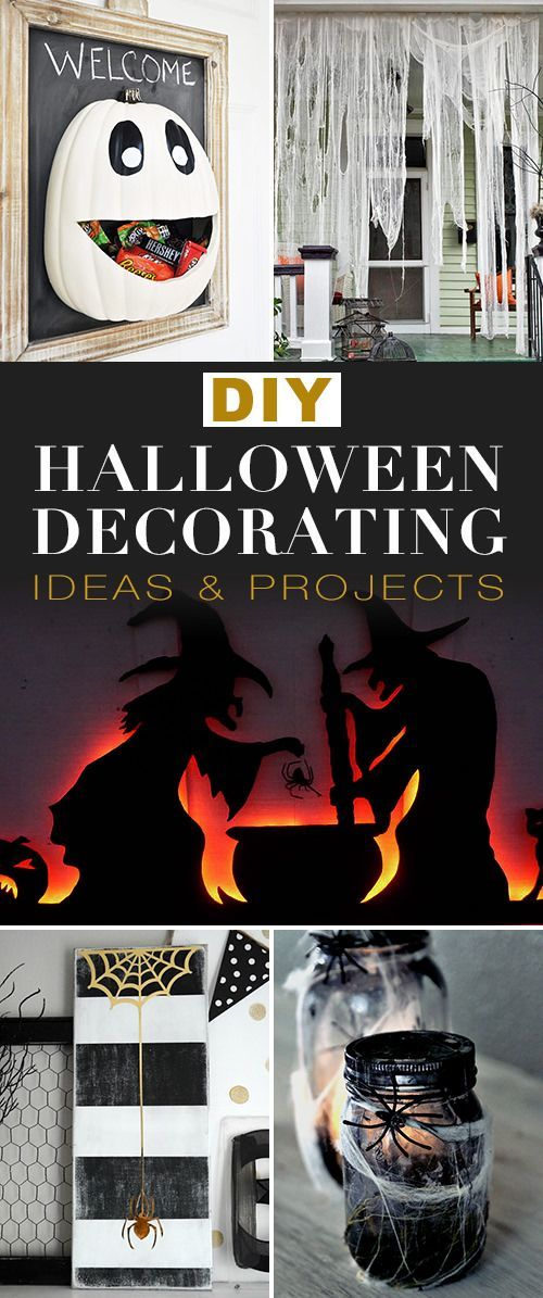 DIY Halloween Decorating Ideas  Projects Halloween Crafts  Decor