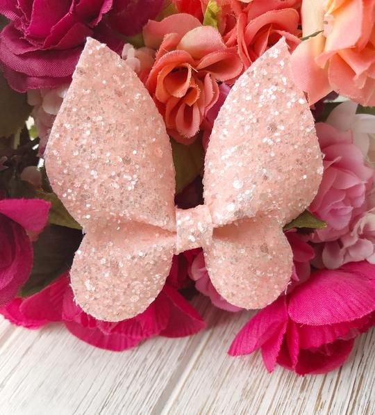 Wedding Hairstyles For Bows Buds Tiaras And More From: Handmade Baby Clothes, Handmade