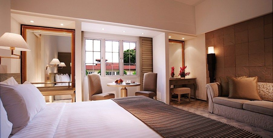Accommodation In Singapore Deluxe Room Hotel Hotels Room