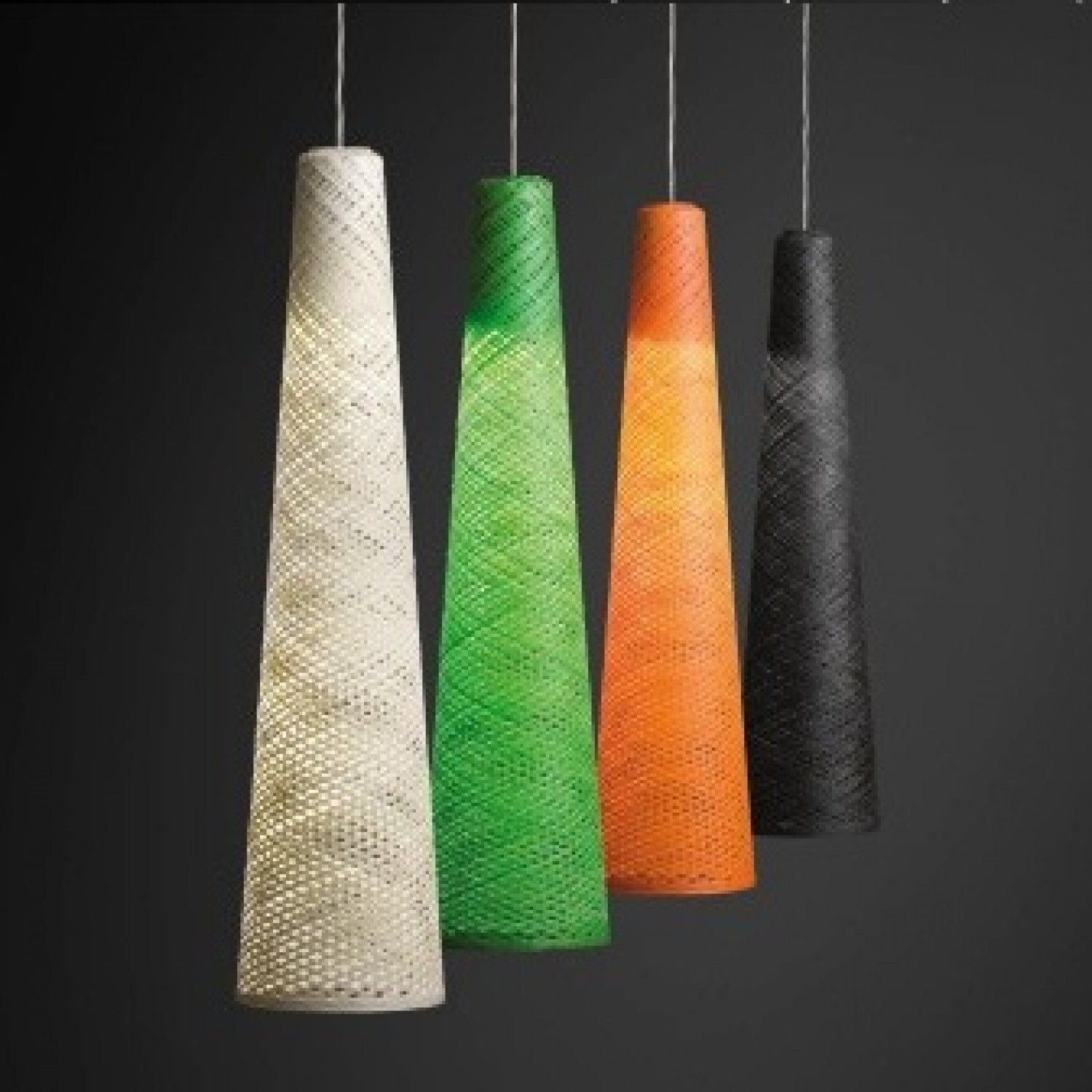 lampe design wind suspension 3 led vibia clairage